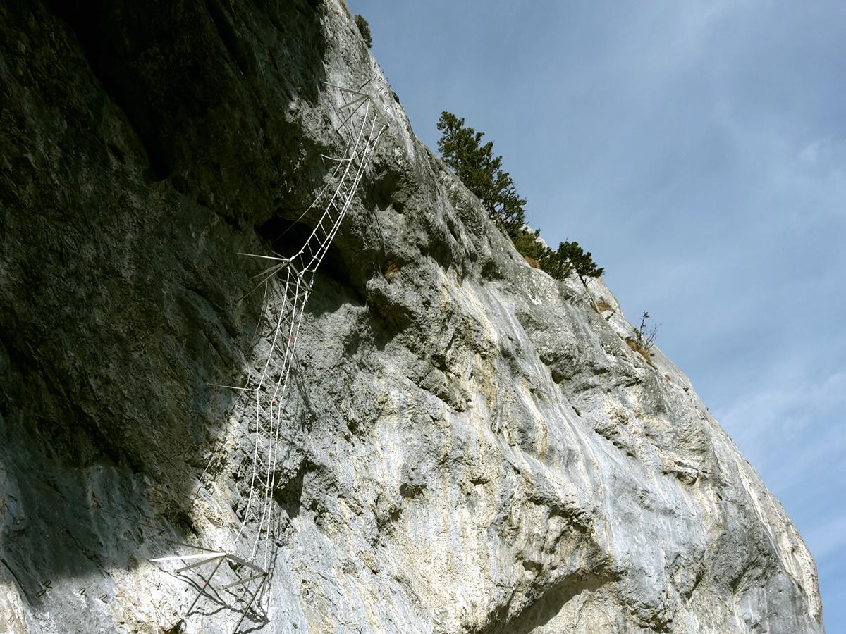 Klettersteig Himmelsleiter : Felix´ himmelsleiter kletterpark spielmäuer
